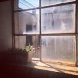La finestra Fotografie Stock