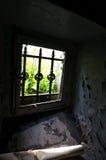 La finestra abbandonata Fotografia Stock Libera da Diritti