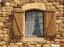 La finestra aperta Fotografia Stock Libera da Diritti