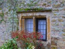 La finestra del cottage Immagini Stock