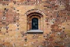 La finestra dell'arco rotondo Immagine Stock Libera da Diritti