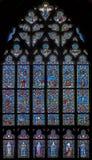 La finestra della chiesa Immagine Stock