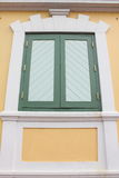 La finestra della parete Immagini Stock