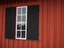 La finestra dimenticata Fotografie Stock Libere da Diritti