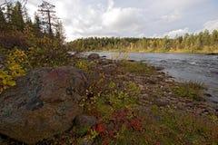 La Finlande 2009 Laponie 4 photographie stock libre de droits