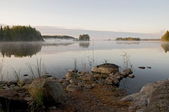 La Finlande 2009 Saima 2 Images stock