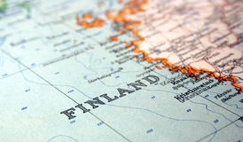 La Finlande Image libre de droits