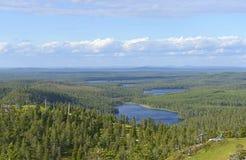 La Finlande du nord Images libres de droits
