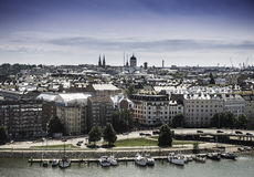 la Finlande Helsinki Image libre de droits