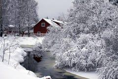 La Finlande : Le pays des merveilles de l'hiver Photos libres de droits