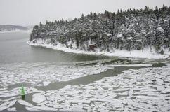 La Finlande - nature en hiver Photographie stock libre de droits