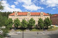 La Finlande, Savonia/Kuopio : Immeuble historique (1924) Images stock