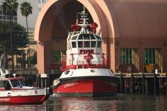la fireboat Стоковая Фотография RF