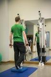 La fisioterapia esercita l'addestramento attivo 2 di salute Immagine Stock