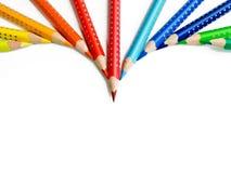 La flèche du crayon Photos libres de droits