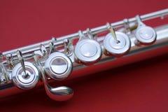 La flauto chiude a chiave la macro Fotografie Stock Libere da Diritti