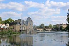 La Fleche, França Fotos de Stock Royalty Free