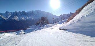 La Flegere, Chamonix Stockbilder