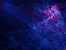 La fleur d'écarlate de Digital dans le bleu Photo stock