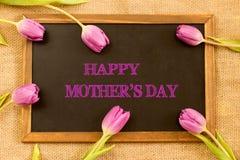 la fleur de jour donne à des mères le fils de momie à Images stock