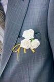 La fleur du marié Photos libres de droits