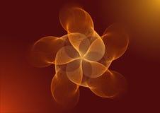 La fleur fantastique Image libre de droits