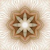 La fleur ficelle l'abstrait Photo libre de droits