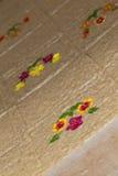 La fleur handcraft le détail de décoration d'artisan photos libres de droits