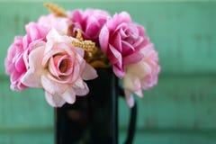 La flor artificial Imagen de archivo libre de regalías