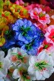La flor artificial de la decoración hermosa foto de archivo libre de regalías