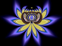 La flor de loto Imagenes de archivo