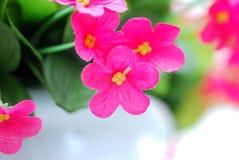 La flor plástica Foto de archivo