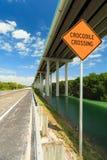 La Florida afina la carretera Fotografía de archivo
