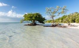 La Florida cierra la playa de Anne imagenes de archivo