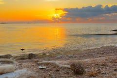 La Florida cierra salida del sol Foto de archivo libre de regalías