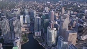 La Florida Miami julio de 2017 aéreo Sunny Day 4K inspira 2 metrajes