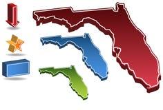 La Floride 3D illustration de vecteur