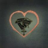 La foi est amour Photographie stock