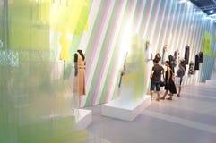 La foire commerciale de quinzième de la Chine (Shenzhen) de marque habillement international d'habillement photographie stock libre de droits