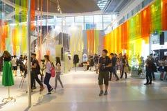 La foire commerciale de quinzième de la Chine (Shenzhen) de marque habillement international d'habillement Photo stock