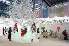La foire commerciale de quinzième de la Chine (Shenzhen) de marque habillement international d'habillement photographie stock