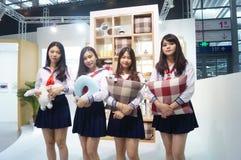 La foire commerciale de quinzième de la Chine (Shenzhen) de marque habillement international d'habillement Image libre de droits