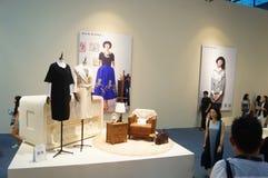 La foire commerciale de quinzième de la Chine (Shenzhen) de marque habillement international d'habillement image stock