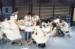 La foire commerciale de quinzième de la Chine (Shenzhen) de marque habillement international d'habillement photo libre de droits