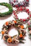 La foire de Noël tresse Images libres de droits