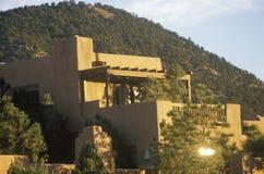 La Fonda-Hotel in Santa Fe, Nanometer Lizenzfreie Stockbilder