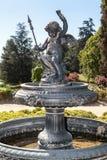 La fontaine dans le jardin Santiago font le Chili Photographie stock