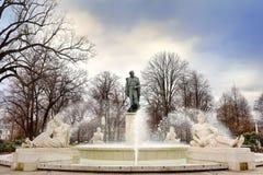 La fontaine de Bruat à Colmar, Alsace, France Photos libres de droits
