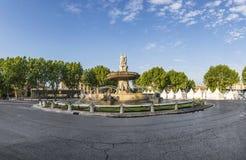 La fontaine de Fontaine de la Rotonde Images libres de droits