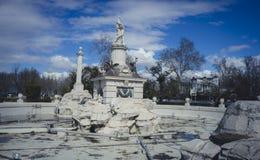 La fontaine de hercule, jardins de la ville d'Aranjuez, a localisé I Images stock